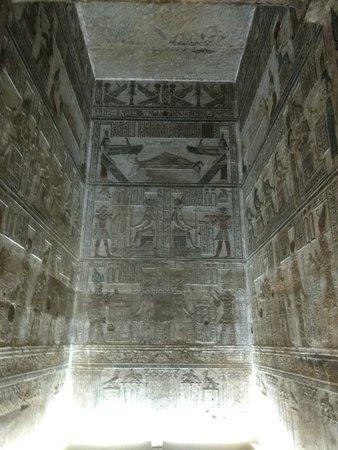 Dendera, Egypt: Una habitacion