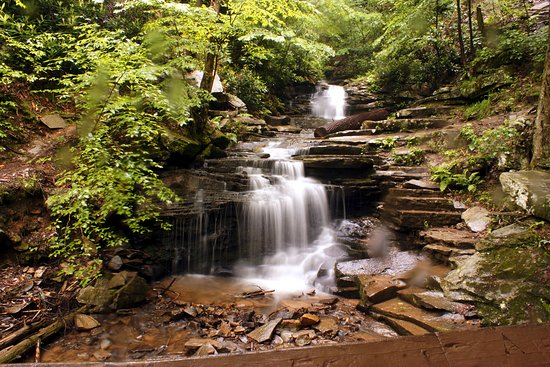 James Creek, Pensilvania: Rainbow Falls Trough Creek State Park