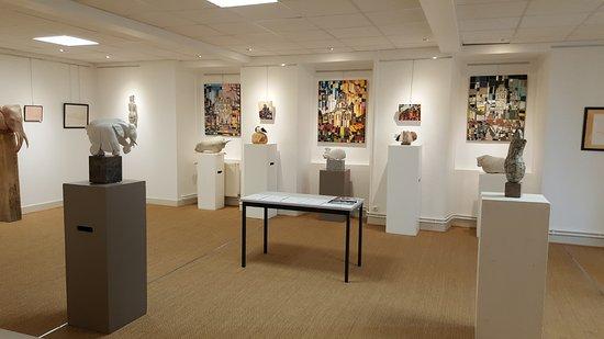 Chatel-Montagne, Frankrike: Espace Rufus : salle d'exposition temporaire