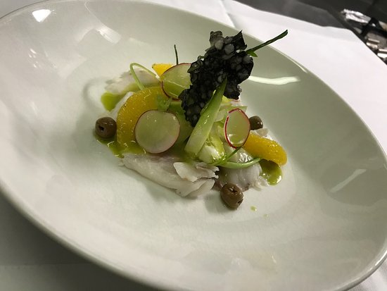Wil, Switzerland: Branzino carpaccio