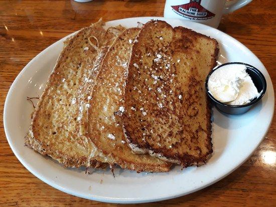 Urbandale, IA: My fav. French toast with coffee ( $12)