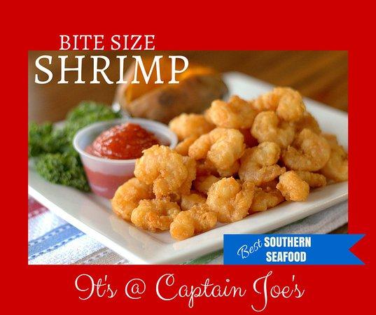 Captain Joe's Seafood: Bite Size Shrimp