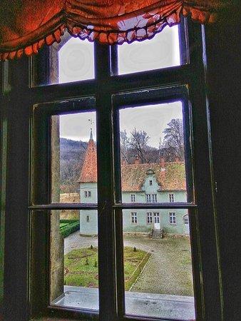 Karpaty, Ukraina: Вид, который открывается из каминной залы