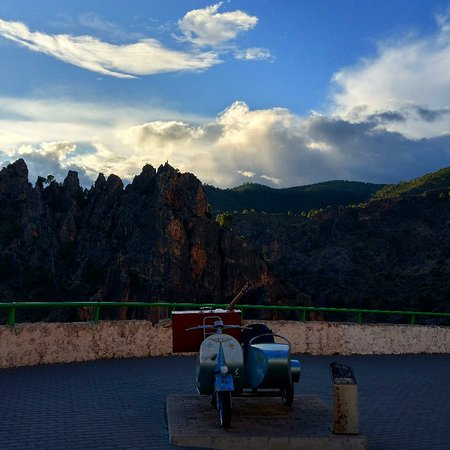 Ayna, Spanyol: Mirador del Sidecar de la Rodea Grande