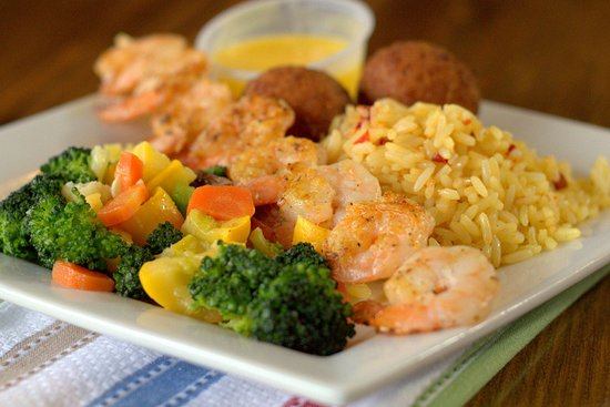 Captain Joe's Seafood: Grilled Shrimp