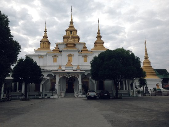 Lampang, Thailand: On front of the temple