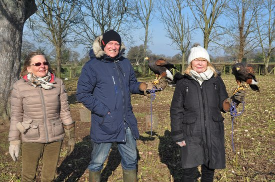Llangynhafal, UK: The happy bunch 23/02/2018