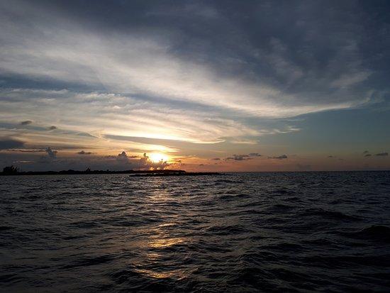Utila, Honduras : No solo disfrutas del interior del océano, mira las vistas del viaje!
