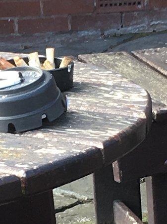 Christleton, UK: Outside table