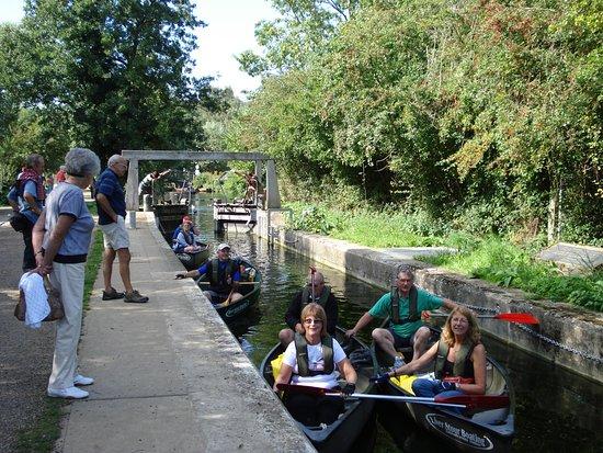 Bures, UK: Flatford Lock
