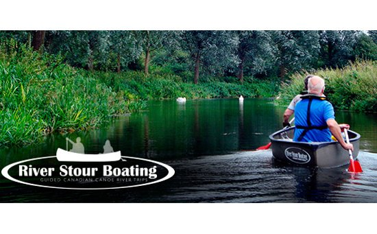Bures, UK: River Stour is the Essex/Suffolk border