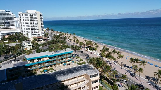The Ritz Carlton Fort Lauderdale View Of Beach From Balcony Left