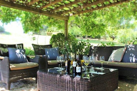 Healdsburg, CA: Enjoy a private wine tasting in our garden arbor