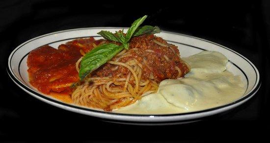 Cesare's At The Beach: PASTA TRIO -  Homemade ravioli, agnolotti, and a pasta surprise!