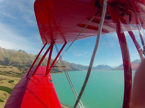 Twizel, Nya Zeeland: Mt Cook in the distance