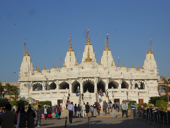 Shree Swaminarayan Temple Bhuj: Nice view of the temple