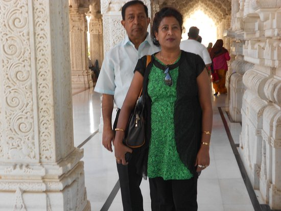 Shree Swaminarayan Temple Bhuj: inside the temple