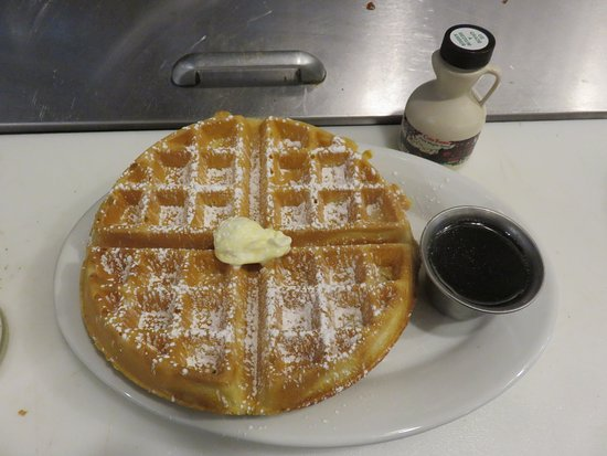 DeWitt, NY: Belgian waffle