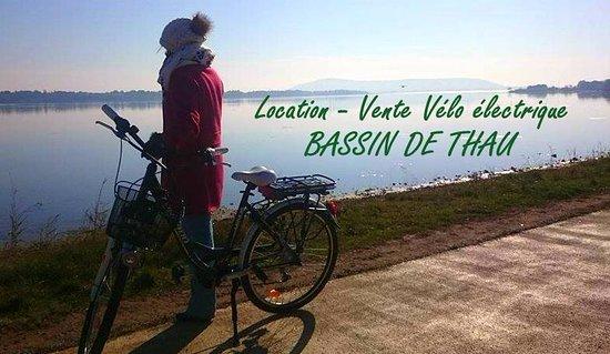 Gigean, France: Venez découvrir le bassin de Thau en Vélo Electrique