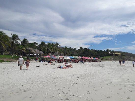 La Cruz de Huanacaxtle, Mexiko: Nahui Beach ook wel Destiladeras beach genoemd