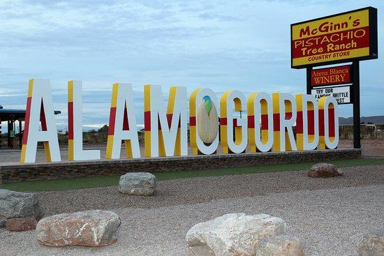 Giant Alamogordo Landmark