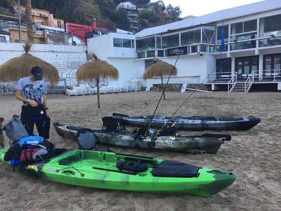Caimi & Allen: Excursiones en KAYAKs de Pesca