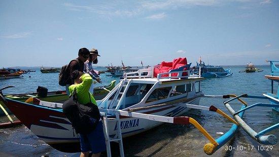 Mataram, Indonesia: boat