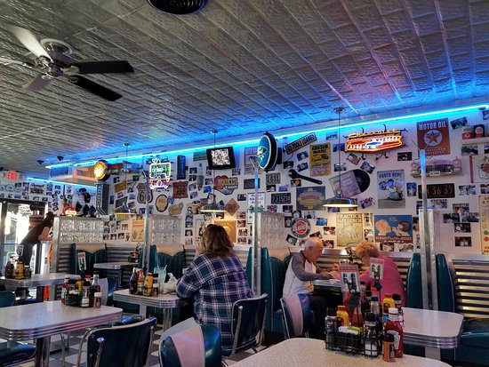 Hot Rod's dining room - Picture of Hot Rods 50's Diner