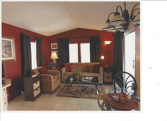 Fully furnished living rooms in our bungalows. - Picture of Banning ...