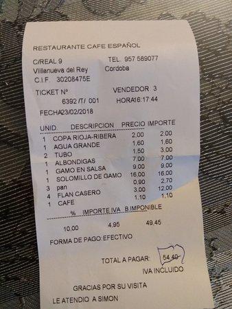 Restaurante restaurante cafe en villanueva del rey for Villanueva del rey