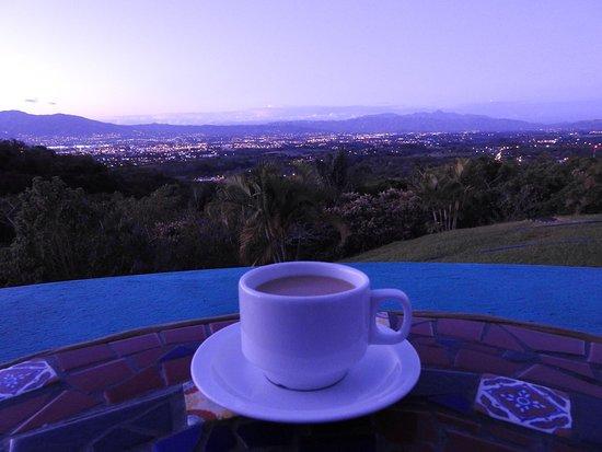 Xandari Resort & Spa: Dawn view from 17