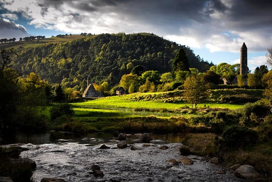 Glendalough in Wicklow. Photo provided by Tourism Ireland