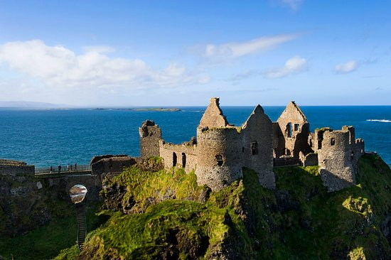 Dunluce Castle, Northern Ireland. Photo provided by Tourism Ireland