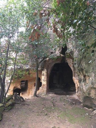 Pienza, Italy: L'ingresso superiore del Romitorio.