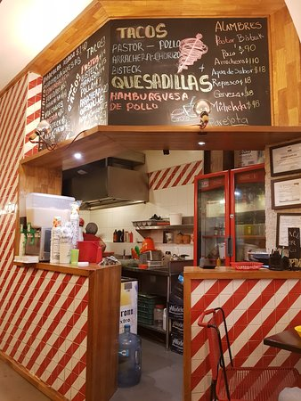 El Trompo de San Javier: The menu.