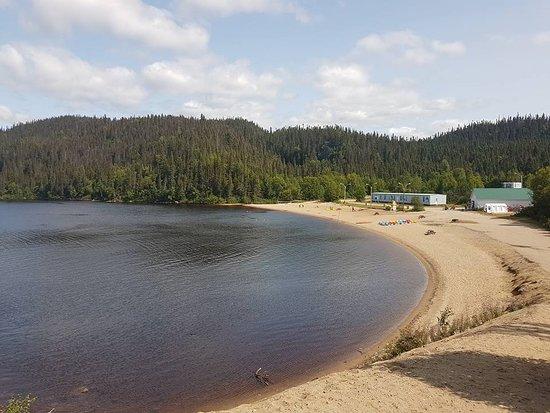 Sept Iles, Canada: Plage Lac des Rapides