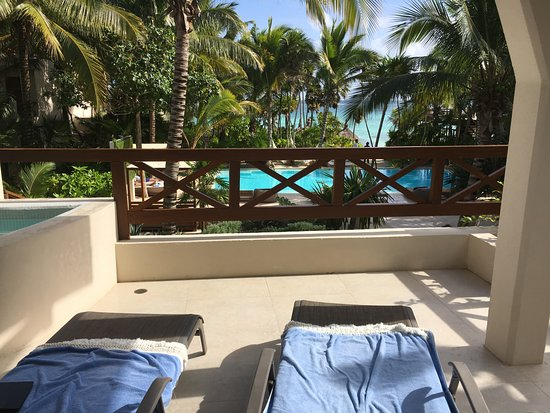 Soliman Bay, Mexico: room balcony