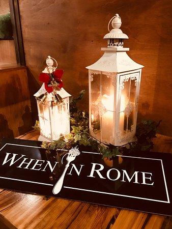 When In Rome: Rustic and Romantic