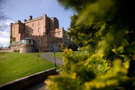 Dalhousie Castle: Exterior