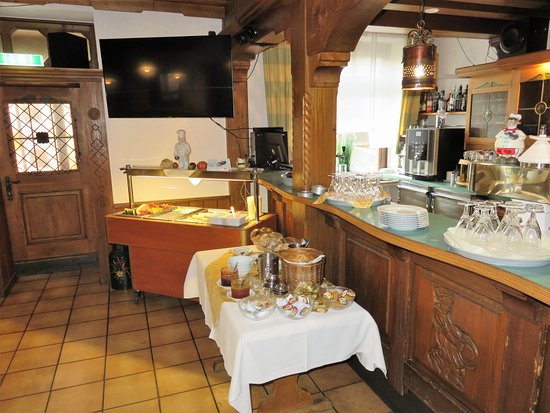 Neuhof, Jerman: Breakfast buffet