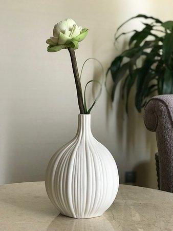 Lotus Flower Vase In Room Gorgeous Picture Of Sofitel Phnom Penh