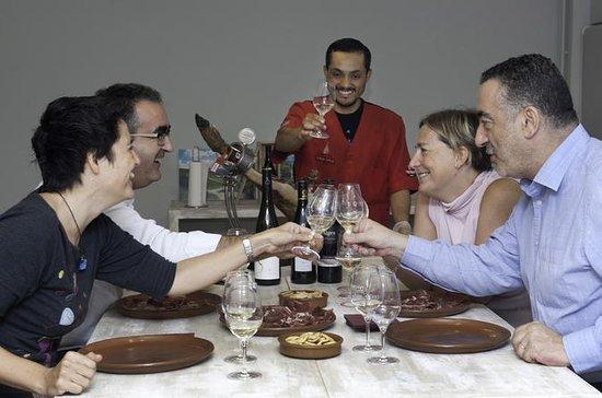 Degustazione di prosciutto e vino a