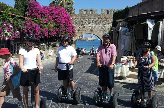 Rhodes Old and New Town Combo Segway Tour