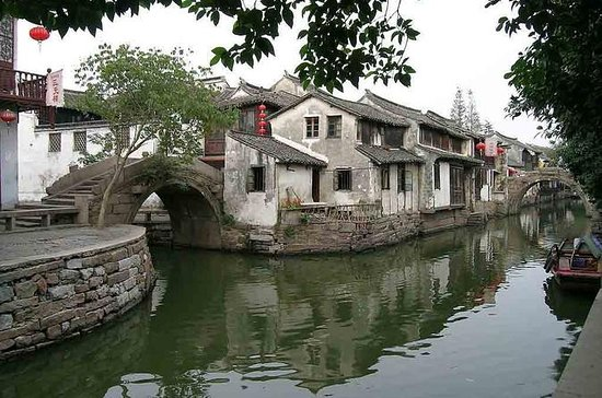 Zhouzhuang and Shanghai in One Day
