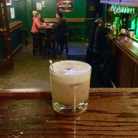 stepped into the whiskey bar for one of their amazing whiskey sours