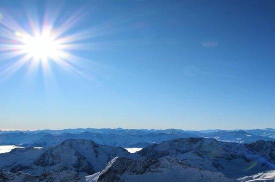 Zugspitze and Innsbruck from Munich