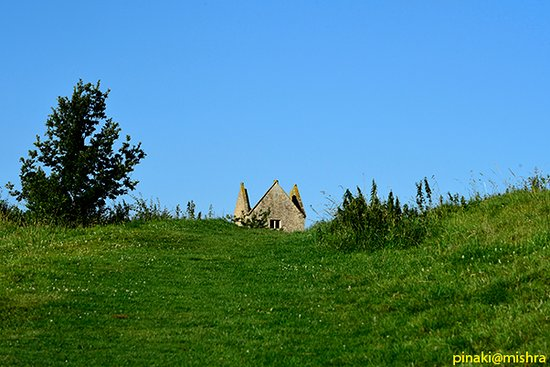Bruton, UK: Tip of the Dovecote watchtower