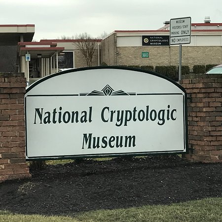 National Cryptologic Museum: A captured German Enigma machine and an American made Bombe machine used to crack the 4 rotor st