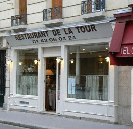 Restaurant La Tour Rue Desaix Paris