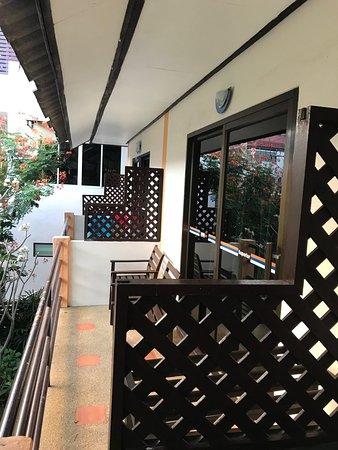 Ark Bar Beach Resort : Balcony